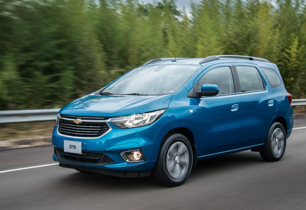 Chevrolet presentó la gama completa del nuevo Spin | Garantia Plus