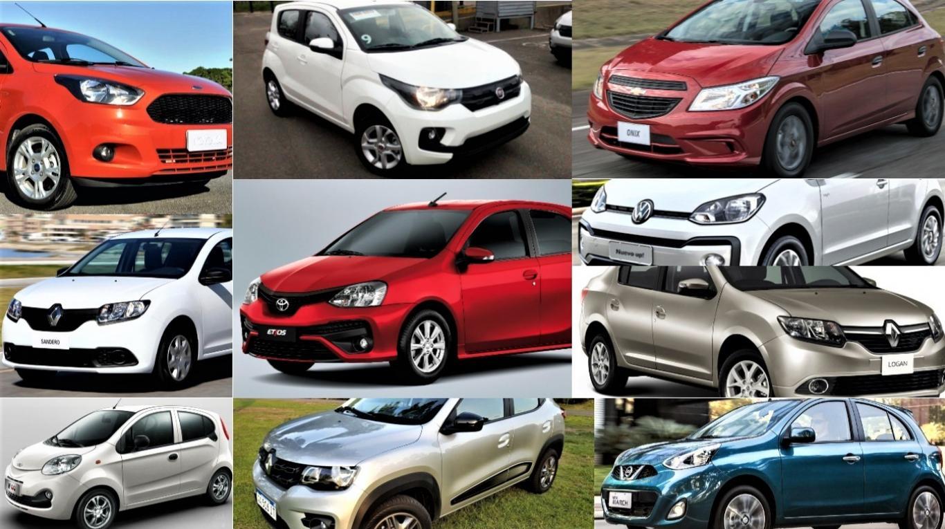 Cuánto cuestan los 10 autos 0 km más baratos del país | Garantia Plus