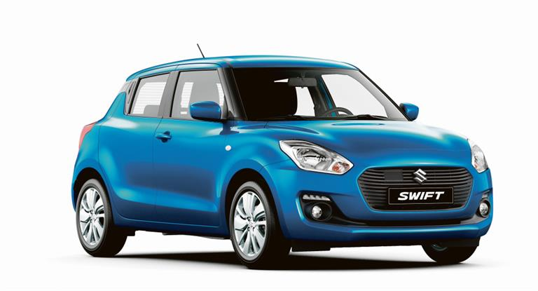 Suzuki Swift: Equipamiento de nivel superior | Garantia Plus