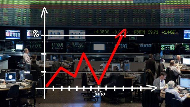 Cuáles son las acciones y bonos que elige el mercado, mientras mira de reojo la cotización del dólar | Garantia Plus