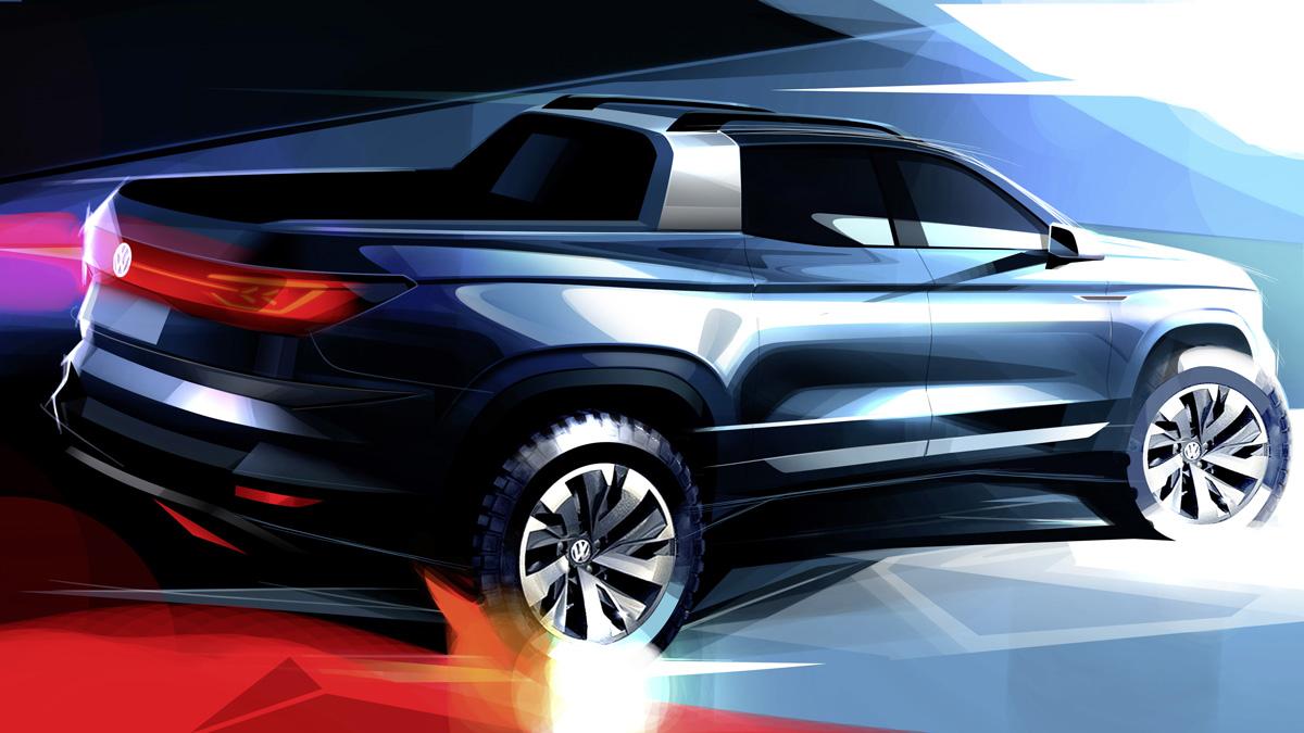 Volkswagen Tarok: primera imagen oficial de la rival para la Fiat Toro | Garantia Plus