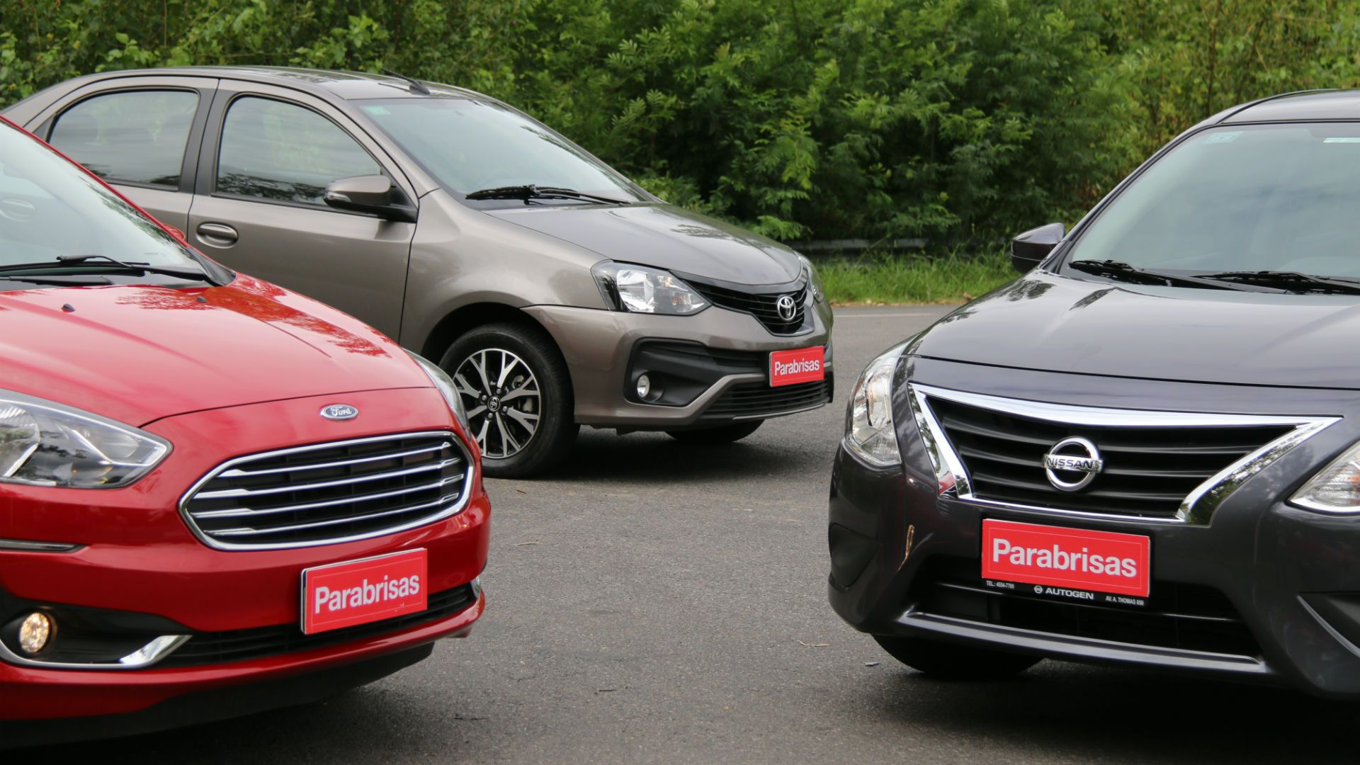 Comparación entre los tres sedanes compactos más populares: Ford Ka+, Nissan Versa y Toyota Etios | Garantia Plus