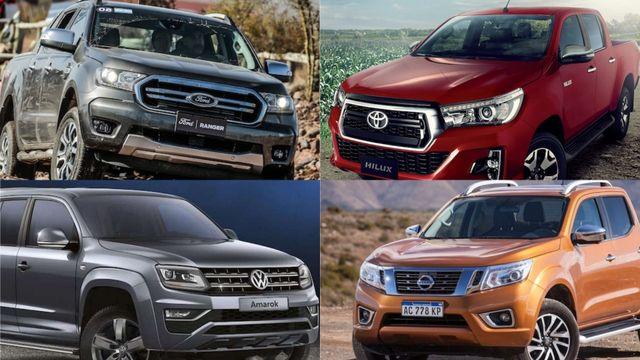 Pickups, conducción semiautónoma y más innovaciones: una por una, qué ofrecen Toyota, Ford, Nissan, VW y GM | Garantia Plus