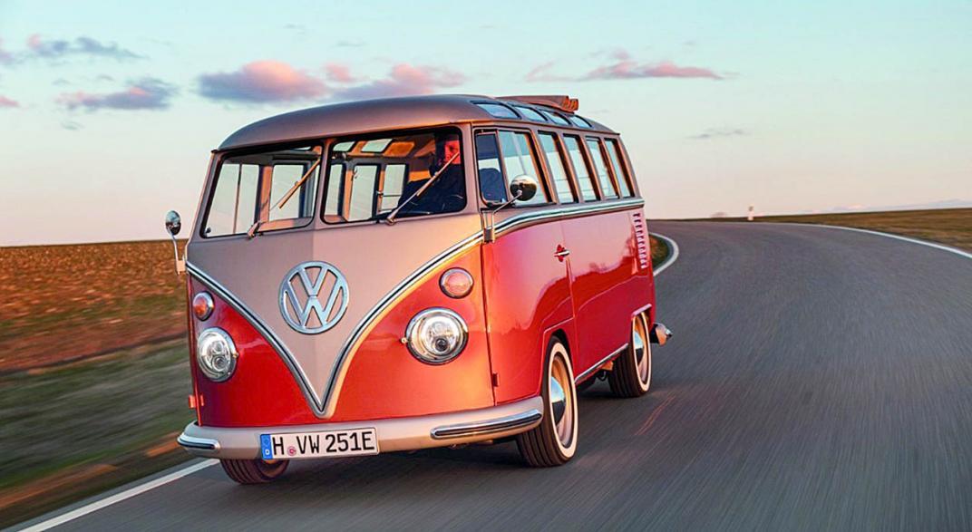 Concept E-Bulli: la Van de VW de 1966 con accionamiento eléctrico 2020 | Garantia Plus