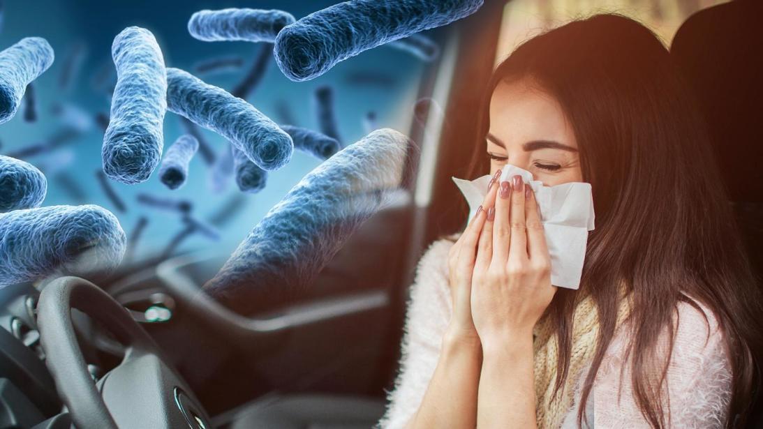 ¿Cómo minimizar el riesgo de contagio de virus y bacterias en la cabina de un auto?