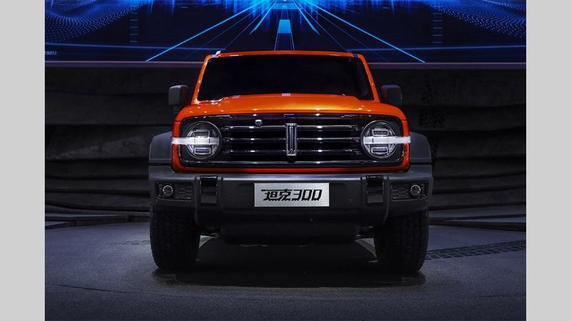 Como un Ford Bronco pero chino: así es el Wey Tank 300 que se presentó en el Salón de Chengdu | Garantia Plus