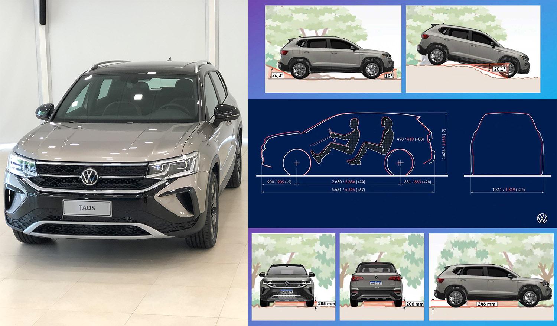 VW Taos: todos los datos técnicos de la nueva SUV argentina | Garantia Plus