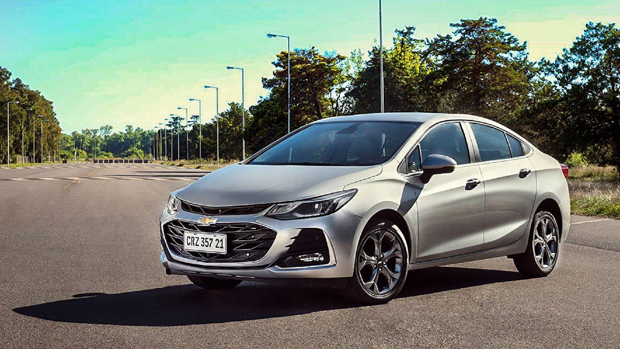 Chevrolet presentó el nuevo Cruze 2021: precios y ficha técnica | Garantia Plus