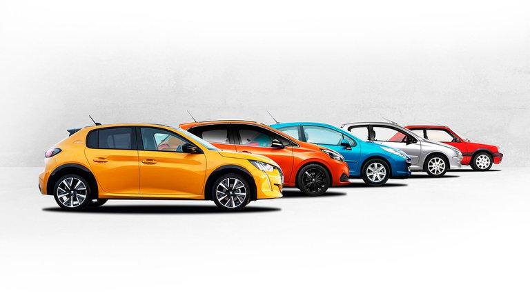 La evolución de una de las sagas insignia de Peugeot: del 205 hasta la última generación del 208 | Garantia Plus