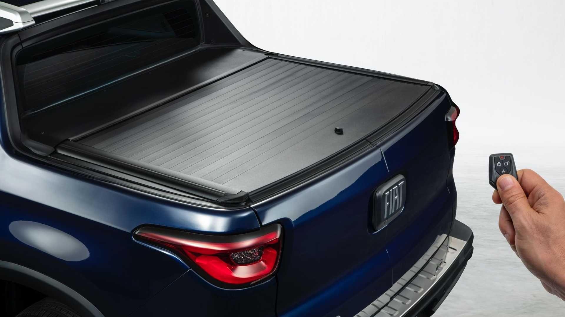 Con look más deportivo: así luce la Fiat Toro 2022 con el kit de accesorios Mopar   Garantia Plus