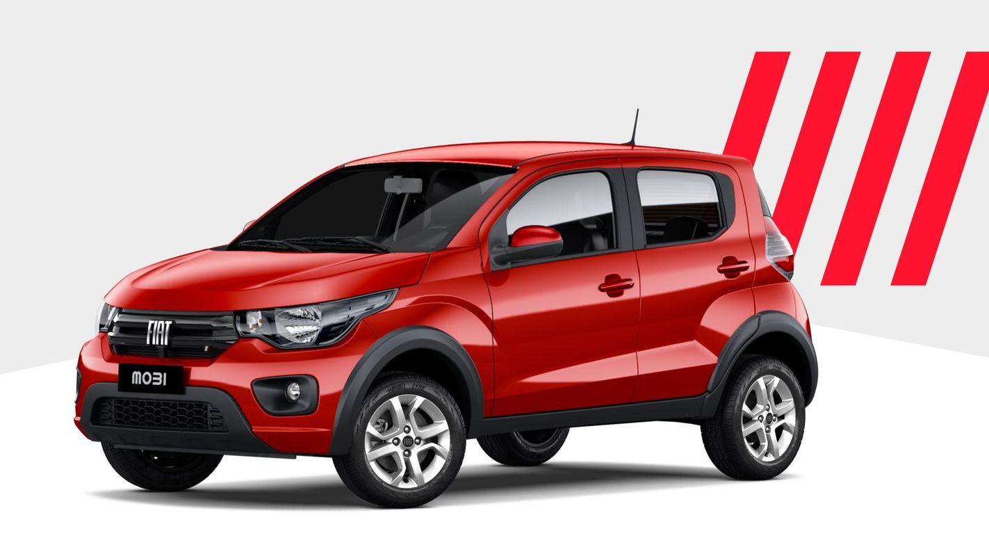 Fiat lanza el nuevo Mobi, con más tecnología y el mismo motor: este es el precio | Garantia Plus