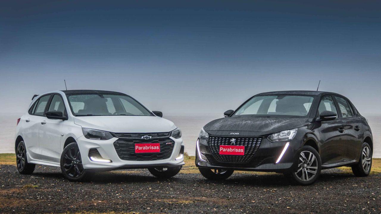 Chevrolet Onix RS vs Peugeot 208 Allure VTi ¿Cuál gusta más? | Garantia Plus